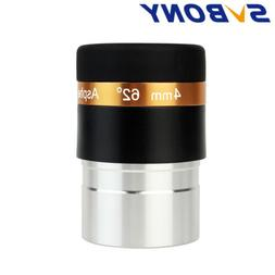 "SVBONY 1.25"" 4mm Wide Angle 62° Aspheric Telescope Eyepiece"