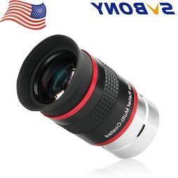 """SVBONY 1.25"""" 68° Wide Angle 20mm Relief Eyepiece FMC for As"""