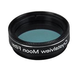 Gosky 1.25 Crystalview Moon Filter for Telescope Eyepiece -