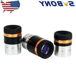 """SVBONY1.25"""" 62°Eyepieces Kits 4/10/23mm Fully-Coated for As"""