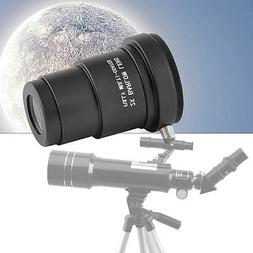 1.25 Inch 2x Barlow Lens / Camera T Adapter for Astronomical