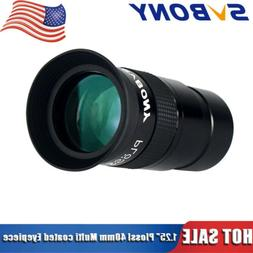 1 25 plossl 40mm eyepieces green coated