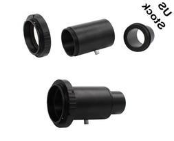 "1.25"" Telescope Adapter Extension Tube T Ring for Canon DSLR"
