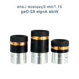 "SVBONY 1.25"" Telescope Eyepiece Kit Wide Angle 62-Deg 4/10/2"