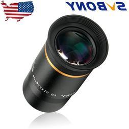 "SVBONY 1.25"" Ultra 66° Telescope Eyepieces 20mm FMC Green L"