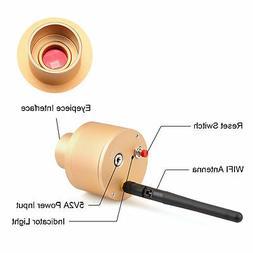 "1.25"" Webcam 2.0MP WIFI Electronic Eyepiece CMOS Telescope C"