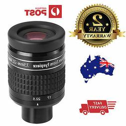"""1.25"""" Zoom eyepiece for telescope - 7.5mm to 22.5mm EX Willi"""