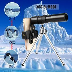 10-30X25 Telephoto Telescope Phone Monocular Camera Lens Cli