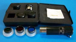 Celestron 10 pc Accessory Kit For Telescope Eyepiece Filter