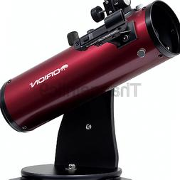 10012 skyscanner 100mm tabletop reflector telescope burgundy