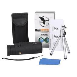 12X52 Monocular Telescope Bak4 Optics Mono Spotting Scope wi