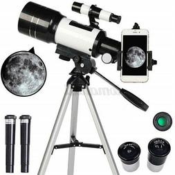150X 70mm Aperture Astronomical Telescope Refractor + Tripod