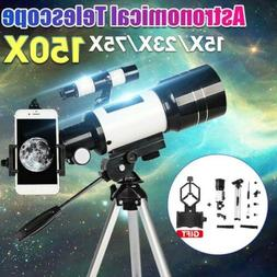 150X 70mm Aperture Astronomical Telescope Refractor Tripod F