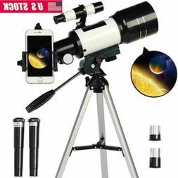 150X 70mm Aperture Astronomical Telescope Refractor Tripod F