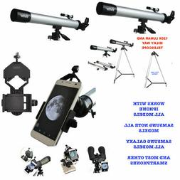 """120X TELESCOPE FULL 57"""" TRIPOD LUNAR AND FOR STAR OBSERVATIO"""