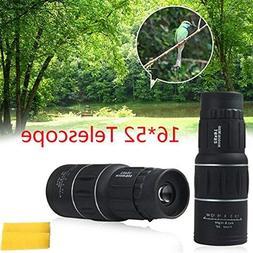 ETbotu 16 Times High Power HD Single-tube Telescope Auto Foc