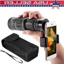 16X52 Dual Focus Optical Day/Night Vision HD Monocular Teles