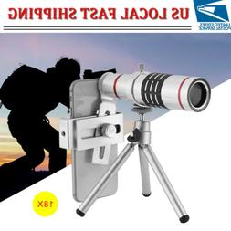 18X Telescope Zoom lens Monocular Mobile Phone camera Lens f