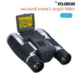 "2"" LCD 12X32 Zoom Digital Binocular Camera Telescope Camcord"
