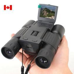 "2"" LCD BD318 HD Digital Binoculars Telescope DVR Video Camer"