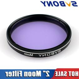 """SVBONY 2"""" Moon Filters Standard 2 inch Filters Thread for Te"""