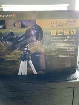 Celestron 21035 Travel Scope 70 Compact Telescope New in Box