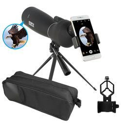 25-75X70 Spotting Scope Bird Watching Telescope With Tripod