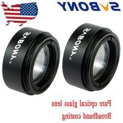 """2x 1.25"""" Telescope Eyepieces 0.5X Focal Reducer Lense for As"""