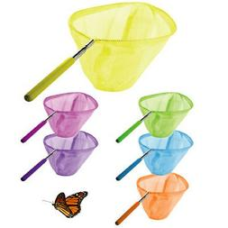 3 Pack Telescopic Butterfly Net Catching Bugs Insect Extenda