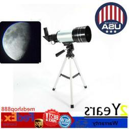 Astronomical Telescope 300x70mm Tube Refractor Monocular Spo