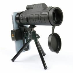 Zoom Lens / Monocular / Telescope With Tripod & Bag For Voda
