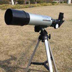 360 50mm refractive astronomical telescope tripod monocula