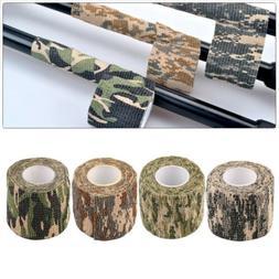4 Roll Army Camo Wrap Rifle Shooting Hunting Camouflage Stea