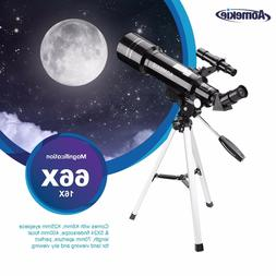 40070 Refractor Telescope For Kids Beginners With Tripod & P