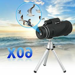 40X60 Zoom Monocular Telescope Camera Lens + Holder + Tripod