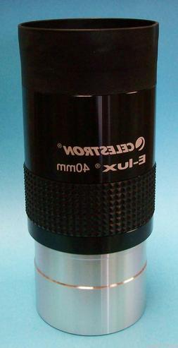 "Celestron 40mm 2"" Long Eye Relief Telescope Eyepiece - NEW"