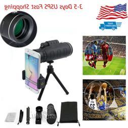 40X60 Clip-on OPTICAL ZOOM Telescope Photo Camera Lens For U