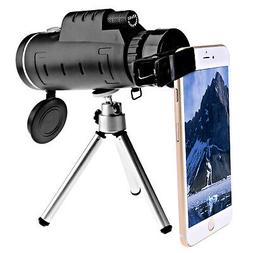 40x60 Optical Zoom Lens + Clip + Tripod Telescope For Mobile