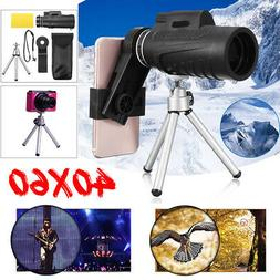 40X60 Telescope For Cell Phone Telephoto Monocular Camera Le