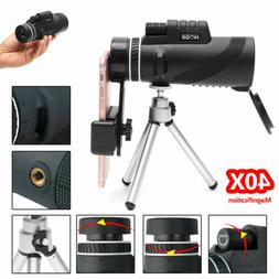 40x60 Zoom Monocular HD Telescope Telephoto Camera Lens + Ph