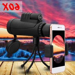 40x60 Zoom Monocular HD Telescope Telephoto Camera Lens +  P