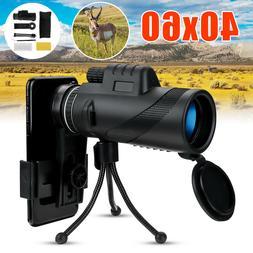 40X60 Zoom Optical Monocular Telescope Night Vision Zoom Sco