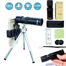 4K 10-300X40mm Super Telephoto Zoom Portable Monocular Teles