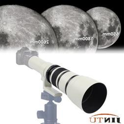 500mm f/6.3 Telescopic Camera Lens for NIKON D5500 D5600 D34