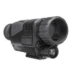 5x40 Digital Night Vision Monocular FMC Infrared Telescope V