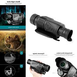 5X40mm Infrared IR Night Vision Video Camera Monocular Scope