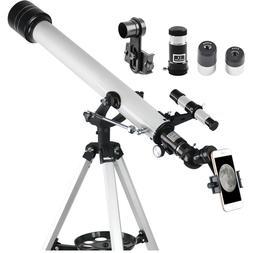 Gosky 60mm Aperture AZ Astronomical Telescope 60x700mm Refra