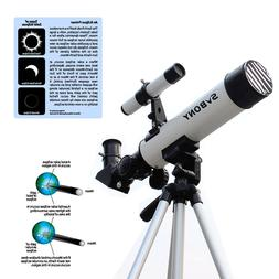 60mm F7 Solar Eclipse Refractor Telescope&Filter&Viewfinder