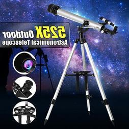 700/60mm 525X Professional Refractive Astronomical Telescope