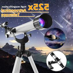 700 60mm 525x professional refractive astronomical telescope